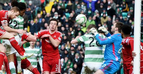 Celtic move six points clear