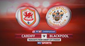 Cardiff 3-2 Blackpool