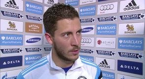 We were lucky to score - Hazard