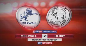 Millwall 3-3 Derby