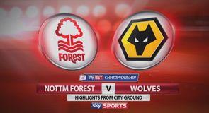 Nott'm Forest 1-2 Wolves