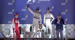 Podium interviews - Bahrain GP