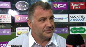Wigan performance unacceptable - Wane