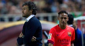 Neymar not happy