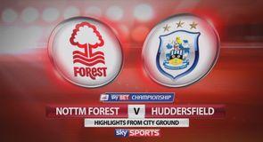 Nottm Forest 0-1 Huddersfield