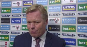 Koeman rues miss chances
