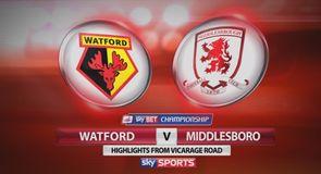 Watford 2-0 Middlesbrough