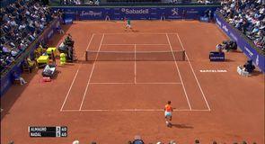 Nadal v Almagro - Barcelona Open