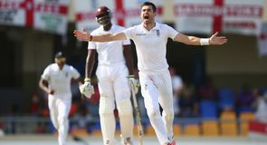 West Indies v England - 1st Test Day 5