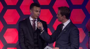 Alli dedicates award to his teammates