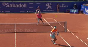 Amazing tennis from Fognini and Nadal