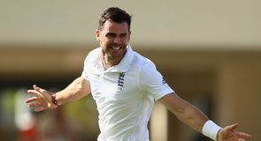Facing James Anderson...