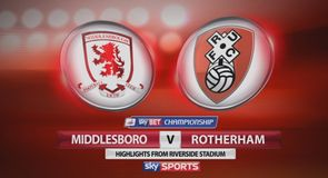 Middlesbrough 2-0 Rotherham