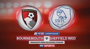 Bournemouth 2-2 Sheffield Wednesday