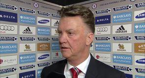 Injuries force van Gaal in to changes