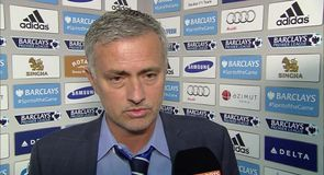 Mourinho not playing for a draw