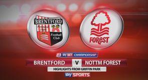 Brentford 2-2 Nottingham Forest