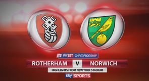 Rotherham 1-1 Norwich