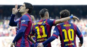 Barcelona's key trio