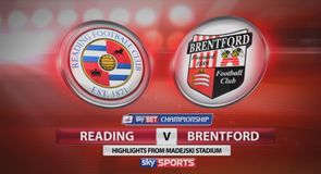 Reading 0-2 Brentford