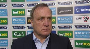 Advocaat: Stoke were strong