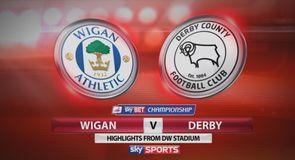 Wigan 0-2 Derby