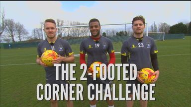 2-Footed Corner Challenge - Bury