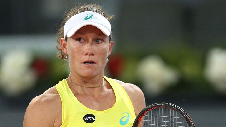stosur into strasbourg final news sportswomen sky sports. Black Bedroom Furniture Sets. Home Design Ideas