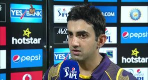 Gambhir praises bowlers