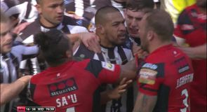 Tempers flare in Magic Weekend opener