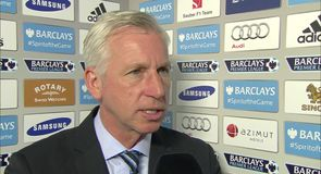 Pardew: Palace players 'a credit to Prem'