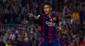 Neymar adds Barca's second