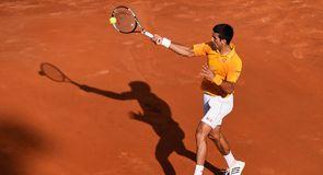 Djokovic v Federer - Rome Masters Final