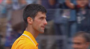 Djokovic moves into Rome final