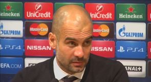 Guardiola defends his players