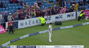 Boult enjoys banter with fans