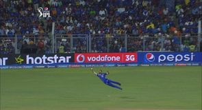 Superb catch from Simmons!