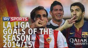 La Liga goals of the season