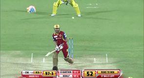 Remarkable Kohli run out!