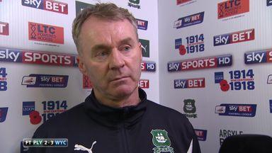 Sheridan hails Plymouth response