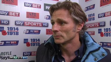 Ainsworth happy with goal advantage