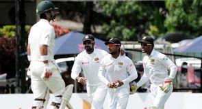 2nd Test, Day 1: SL V Pak