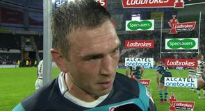 Sinfield proud of Leeds defence