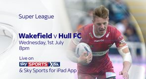 Watch Wakefield v Hull FC live!