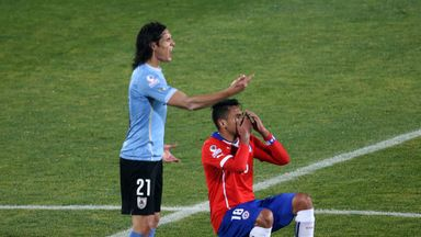 Gonzalo Jara's club Mainz angry at defender's antics against Uruguay