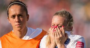England left devastated after defeat