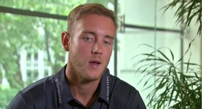 Broad ready for battle
