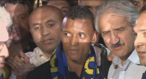 Rousing reception for Nani
