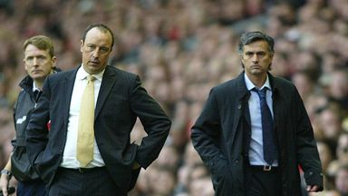 Mourinho: No rivalry with Benitez