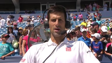 Clinical Djokovic salutes Stan